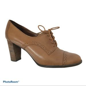 ETIENNE AIGNER Brown Jodell Lace Up